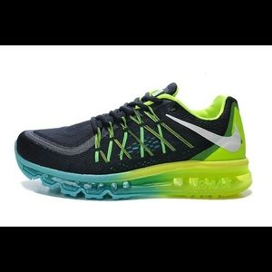 Air Max 2015 Black Green Blue